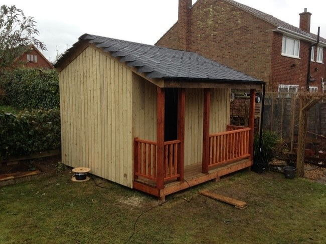 This looks like an ordinary shed. But you'll never guess what's inside