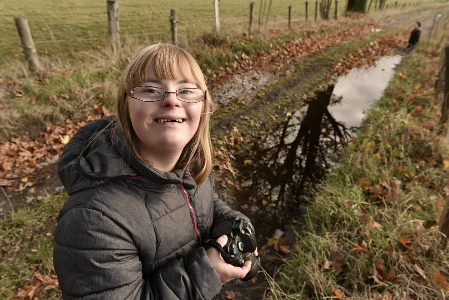 Photographer Dad Challenges Daughter With Down Syndrome To Photo Duel And She Wins