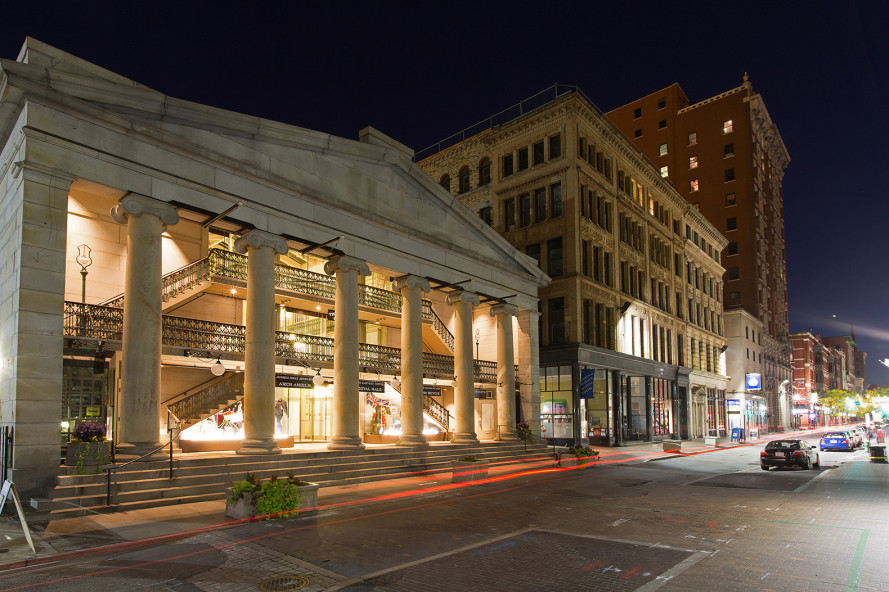 The oldest mall in America now hosts 48 charming low-cost micro apartments
