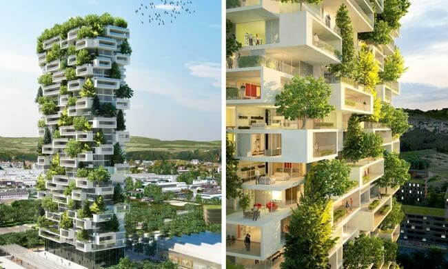 This is the world's first evergreen skyscraper — and it's utterly amazing!