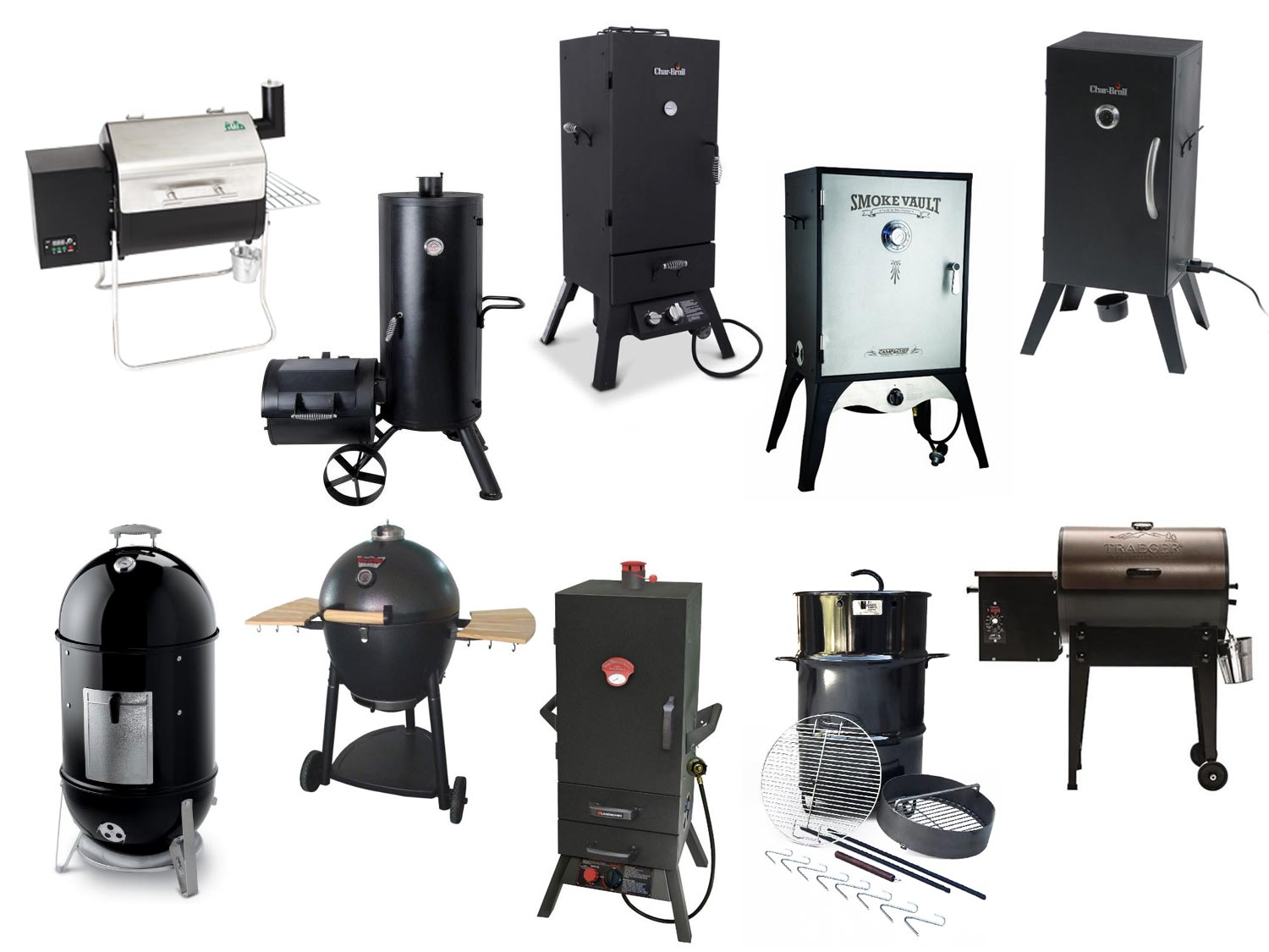The Best Smokers Under $500 2015 Edition Fabweb #836C48