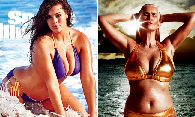 Sports Illustrated has put a plus-size model on its cover for the first time
