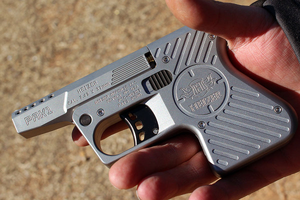 Heizer's Pocket AK And Pocket AR–7.62×39 And .223 Hand Cannon Review