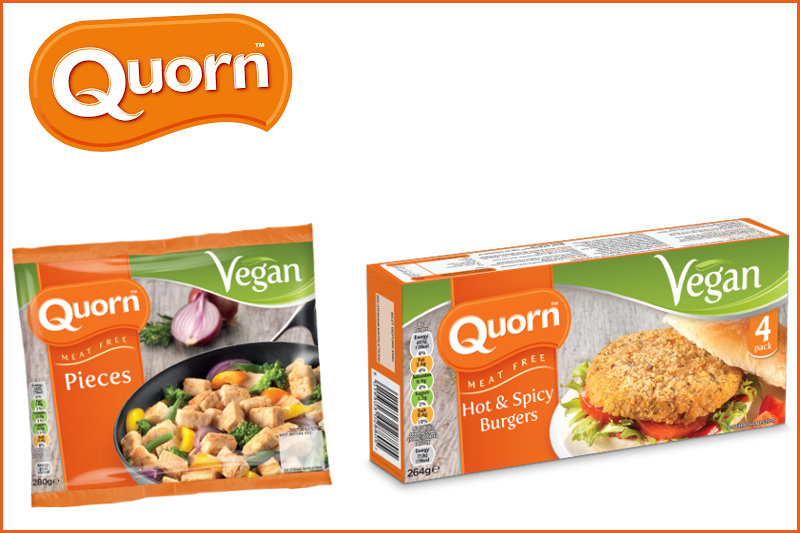 Quorn to go COMPLETELY VEGAN across their ENTIRE range of products!