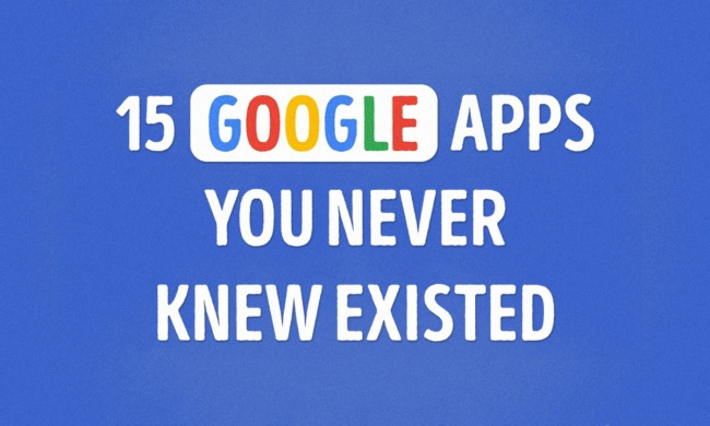 The 15 most useful Google apps you never knew existed