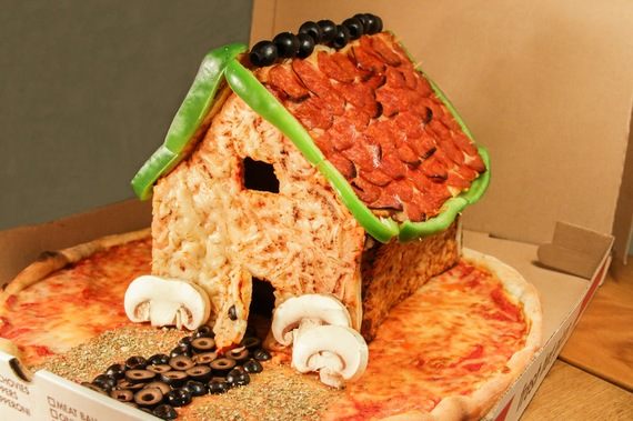 Screw Gingerbread. Behold the Pizza House