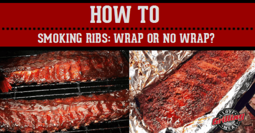 When Smoking Ribs… To Wrap? or Not To Wrap?