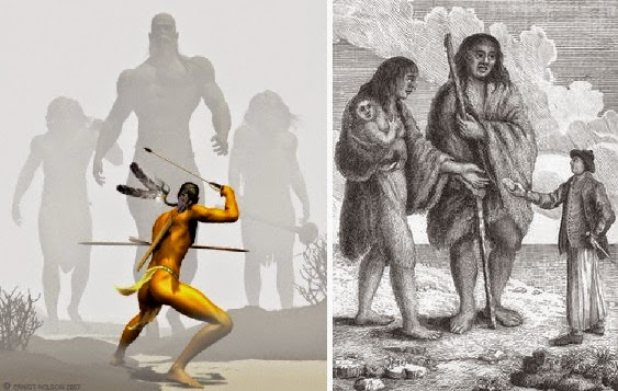 Giants With Double-Rowed Teeth, Flattened Heads and Six Fingers