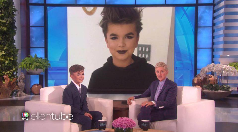 12-Year-Old Boy Does Makeup Tutorials (and ROCKS Them Like a Master)