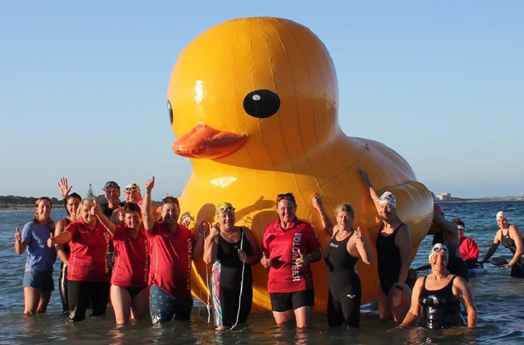 Giant Yellow Duck Goes Missing of the Coast of Australia — Reward