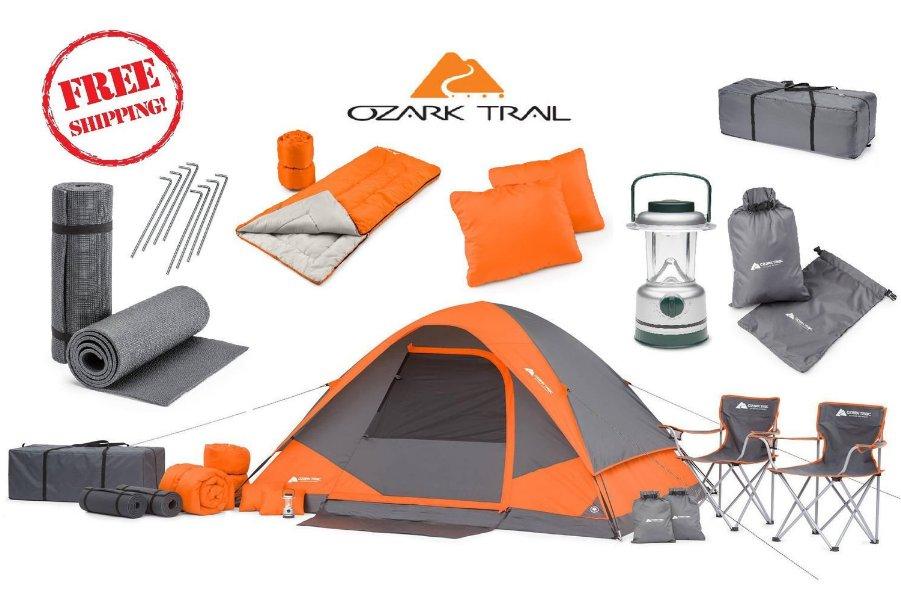 camping equipment bundles