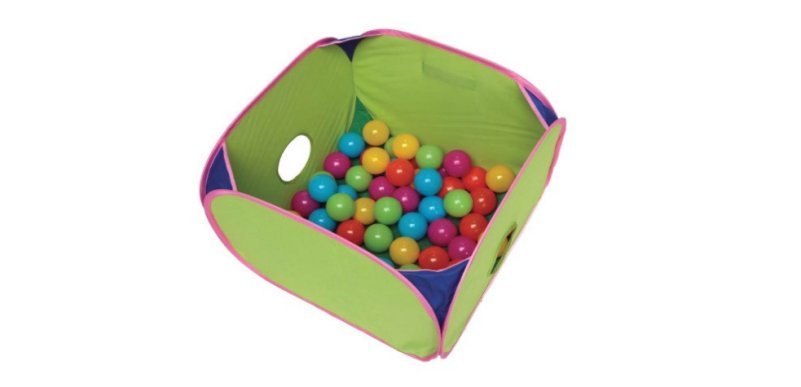 Product photo: Pop-N-Play Ferret Ball Pit for ferrets.