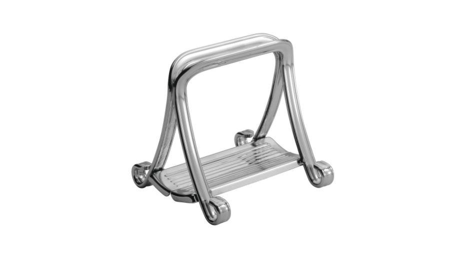 InterDesign York Houseware, Grip Napkin Holder for Kitchen Countertops, Table - Chrome available on Amazon click here