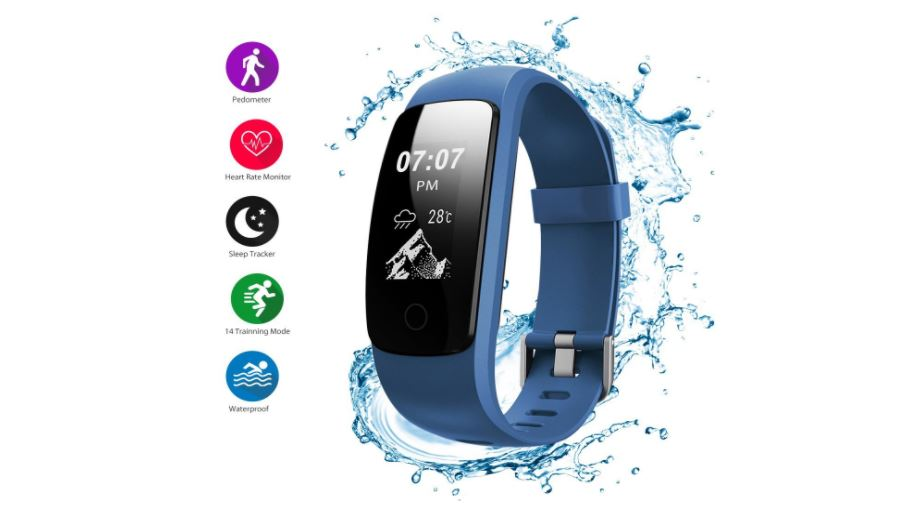 Fitness Tracker, Helthyband H107 Plus Activity Tracker: Waterproof Bluetooth Fitness Watch Smart Bracelet with Sleep Tracker Heart Rate Monitor Pedometer 14