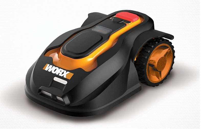 Robot mower for easy front yard landscaping
