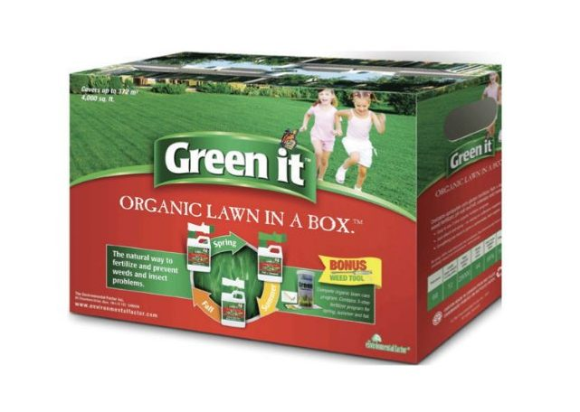 Green It Organic Lawn Care Kit