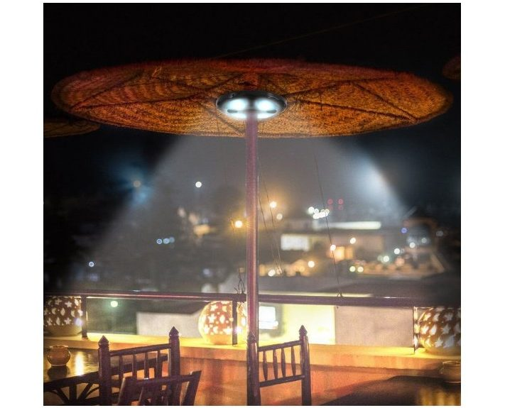 Patio LED Umbrella Light with Bluetooth Speaker