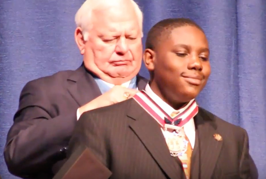 Teen Saves 17 in Hurricane Harvey Flooding, Wins Congressional Medal of Honor
