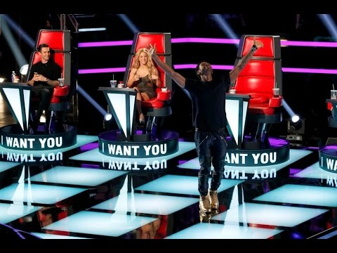 TOP 20 all turn auditions The voice of USA. Must see videos!