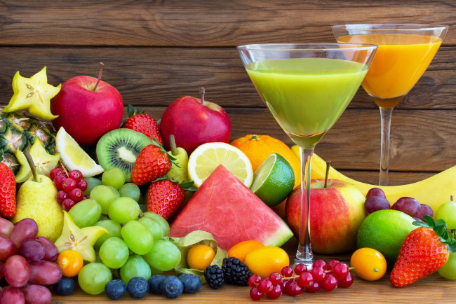 The best-ever combinations of fruits and vegetables for fresh juices