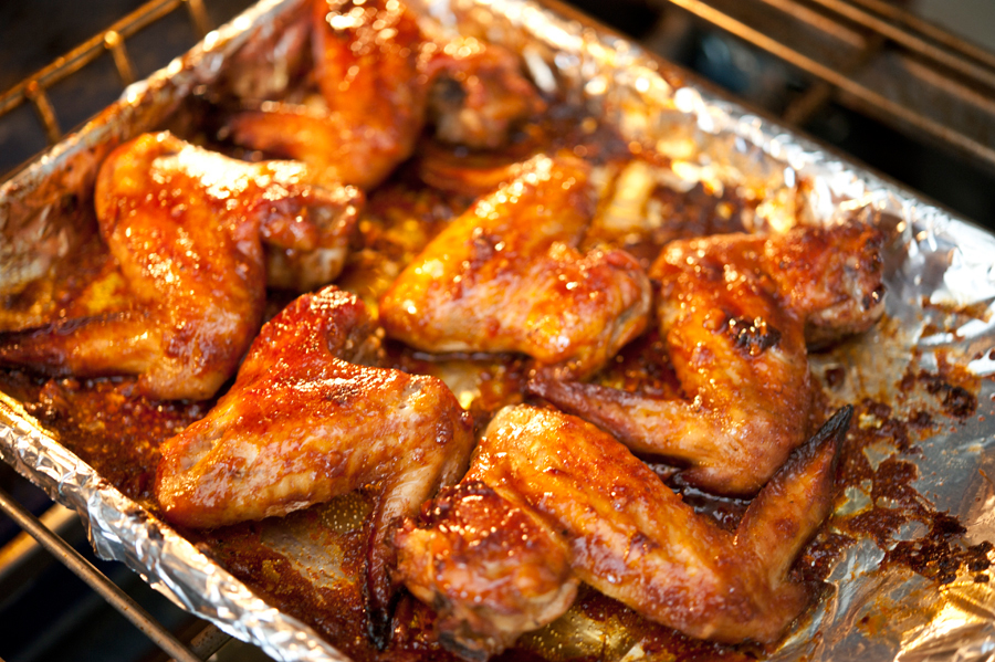 Best Ever Oven Baked Hot Wings