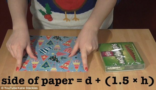 Mathematician Reveals The Perfect Way To Wrap Even The Most Oddly-Shaped Gifts
