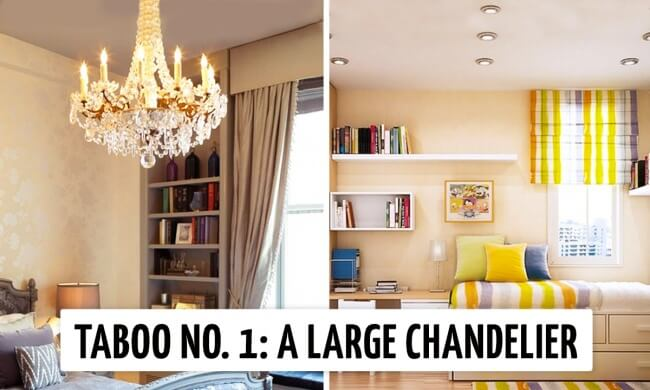 Ten things you should never have in a small apartment if you want to make it truly perfect