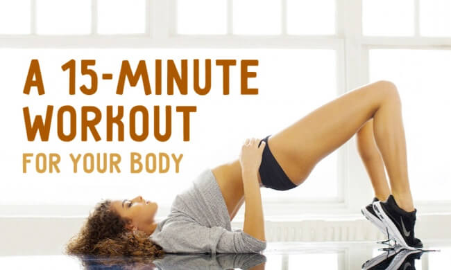 This great 15-minute workout will make your whole body super-strong
