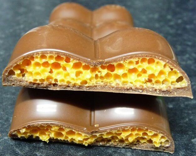 A Guy Opened A 22-Year-Old Chocolate Bar And It Looks Crazy