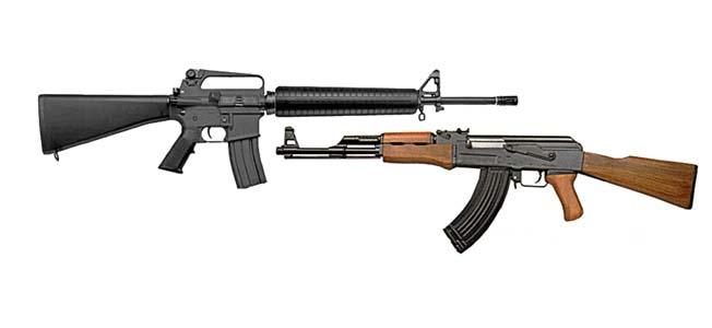AK-47 vs M16 Rifle: Detailed Comparison