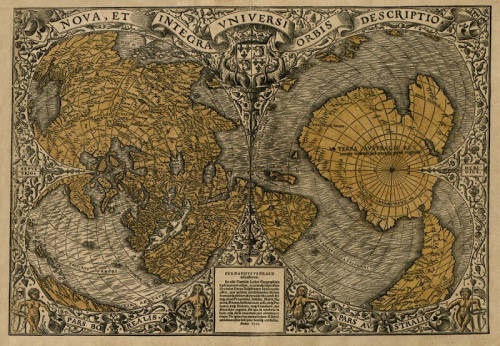30 million-year-old maps of the world?