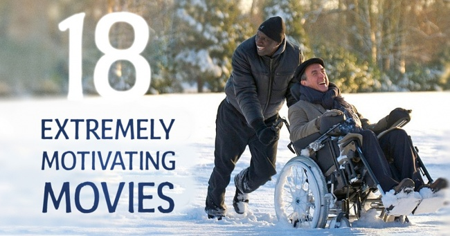 18 extremely motivating movies