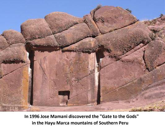 """The """"Gate of the Gods"""" at Hayu Marca is a Stargate and Declassified FBI documents prove it works?"""