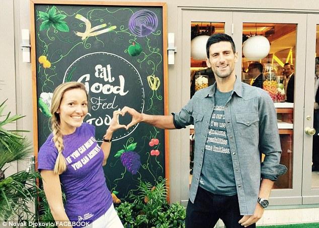 Tennis Star Novak Djokovic Opens Vegan Restaurant