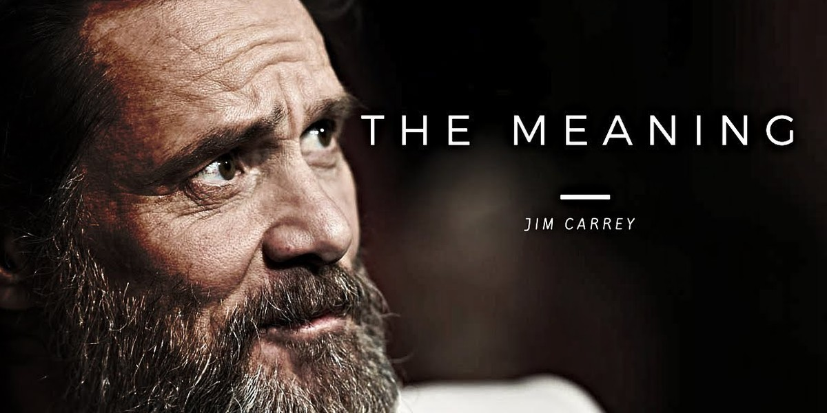 Another Powerful Message From Jim Carrey That Could Change Your Life Forever