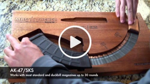 This awesome device allows you to reload a magazine in 2 seconds