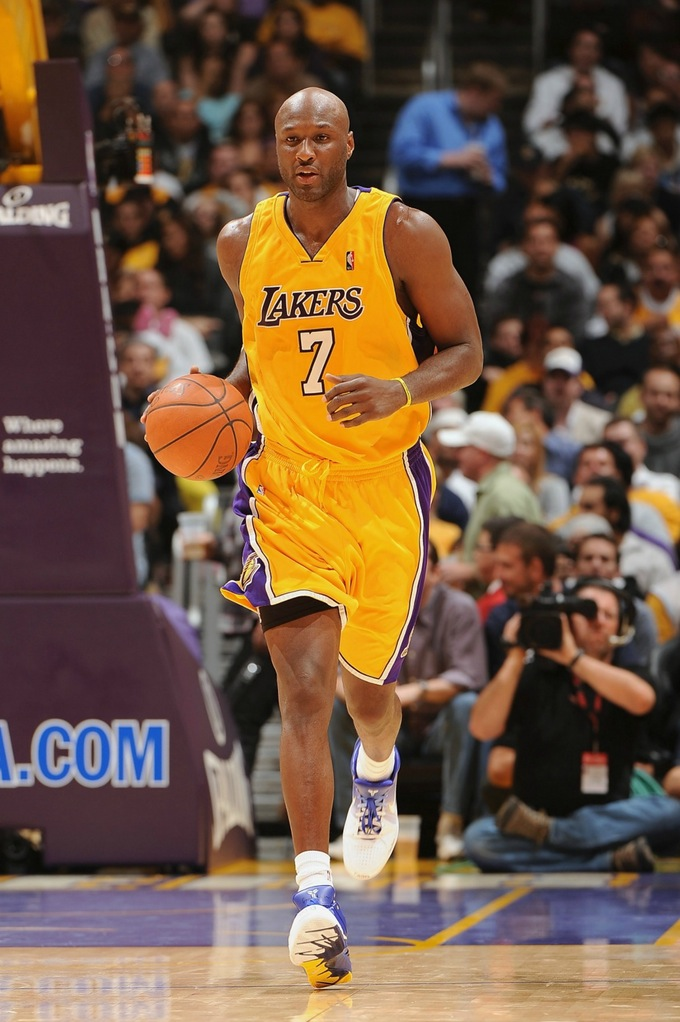 lamar odom basketball