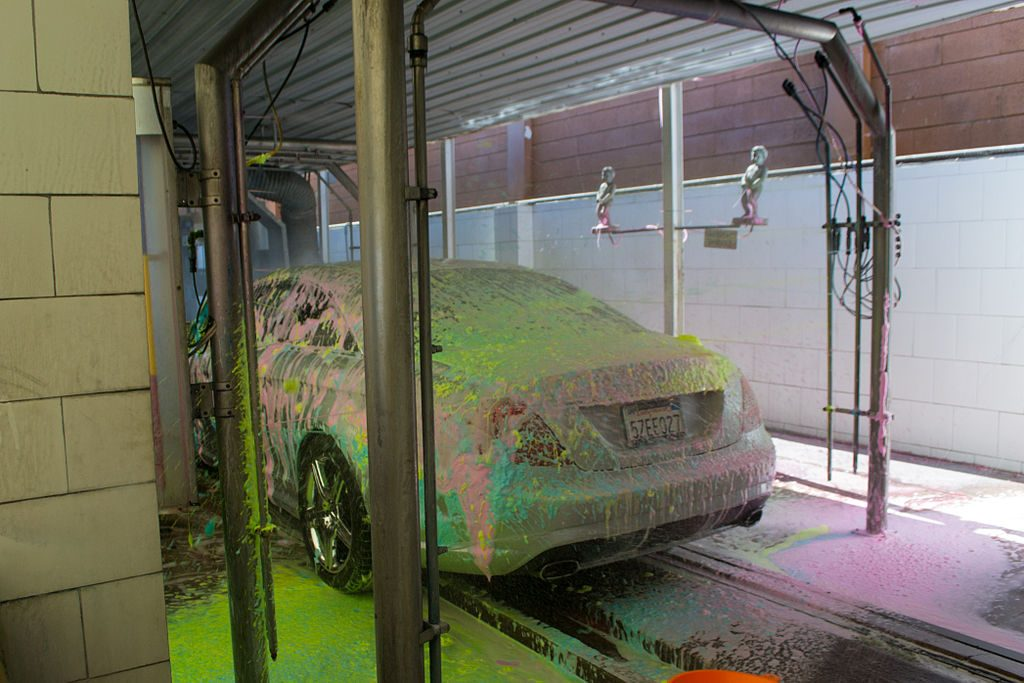 Father launches successful carwash business for successful son.