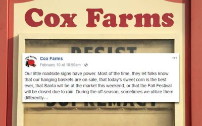 This Stunning Rural Grocery Sign of the Times Just Won the Internet