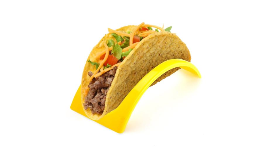 12 stackable taco holders available on Amazon click here
