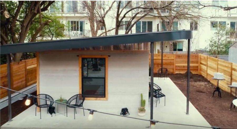 3D printed house Icon house Dallas Texas