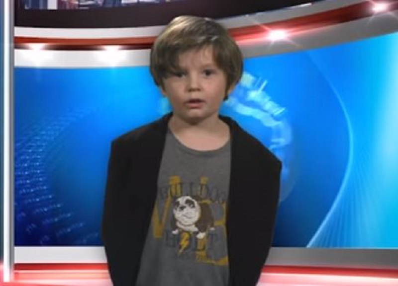 Greatest Weather Forecast EVER! 6-Year-Old Debuts as Weatherman