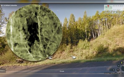 Photos of Ghosts, Lochness Monster and Bigfoot on Google Earth