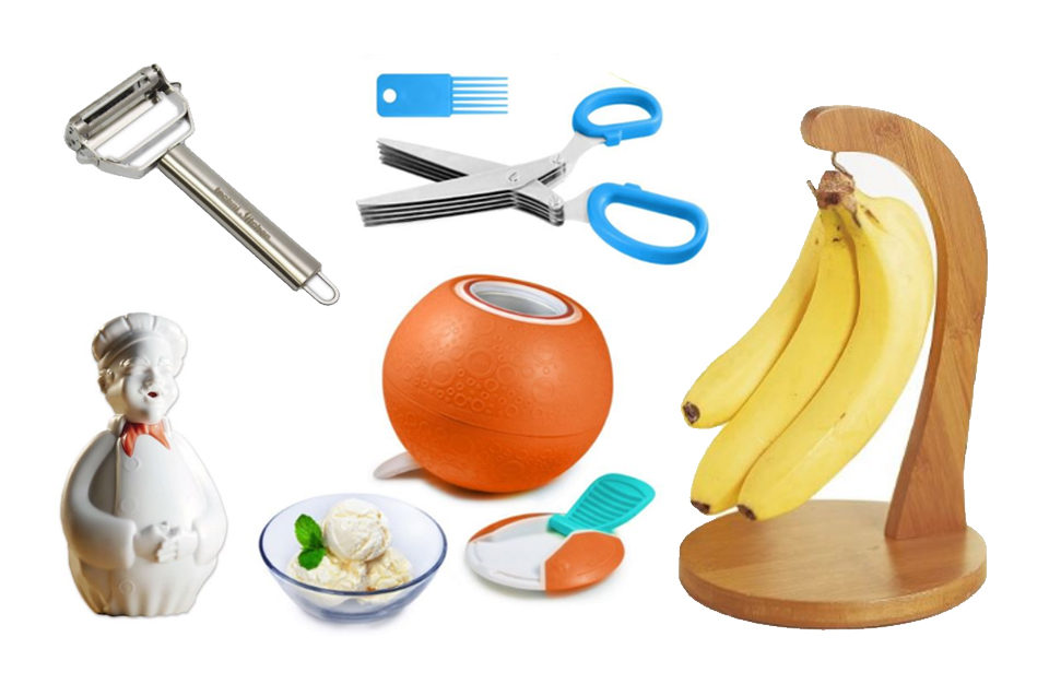 A few of the amazing kitchen gadgets on our list.