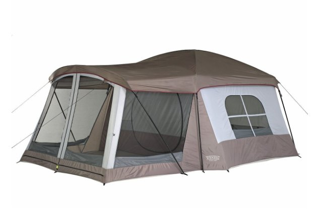 best camping gear on Amazon Wenzel Eight Person Klondike Tent