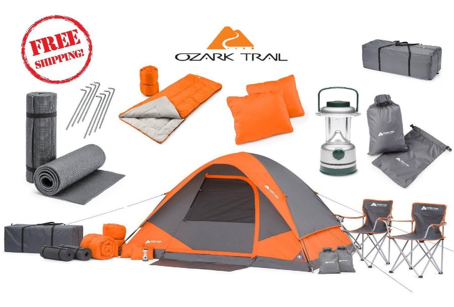 camping equipment bundles