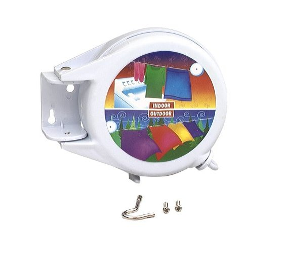 SecureLine 20-Foot Retractable Clothesline