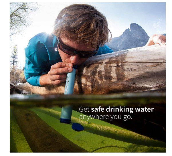 best camping gear on Amazon LifeStraw Personal Water Filter