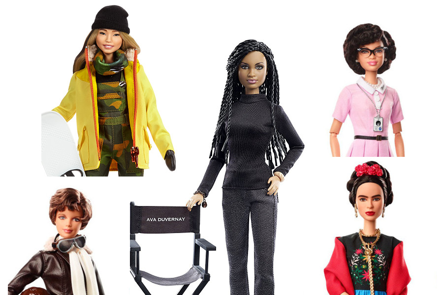 Inspiring Women Barbie collection mattel toys composite product photos