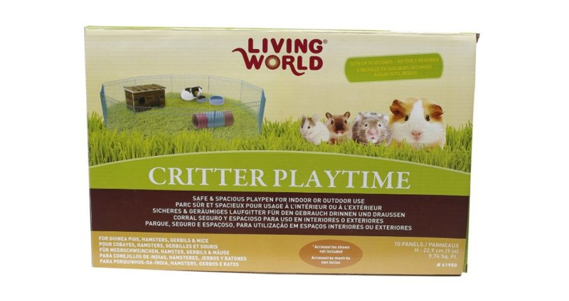 Product photo: Living World Critter Playtime Fence